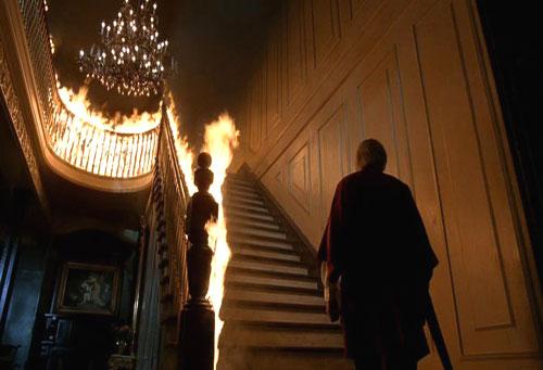 El final de la escalera