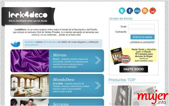 Look4deco el mundo de la decoraci n a un clic for El mundo de la decoracion