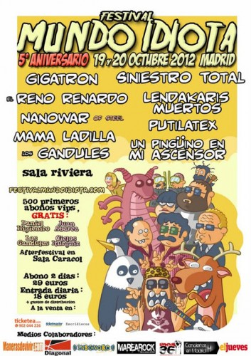 Festival Mundo Idiota 2012