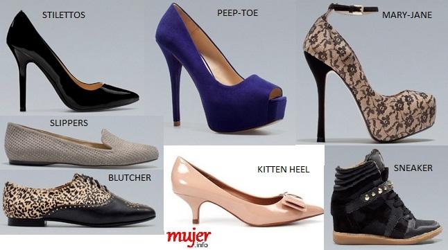 Nombres De Zapatos Mujer Mujer Zapatos De De Zapatos Nombres Mujer hdrxsoQtCB
