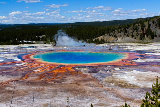 Gran Fuente Prismática, Estados Unidos.