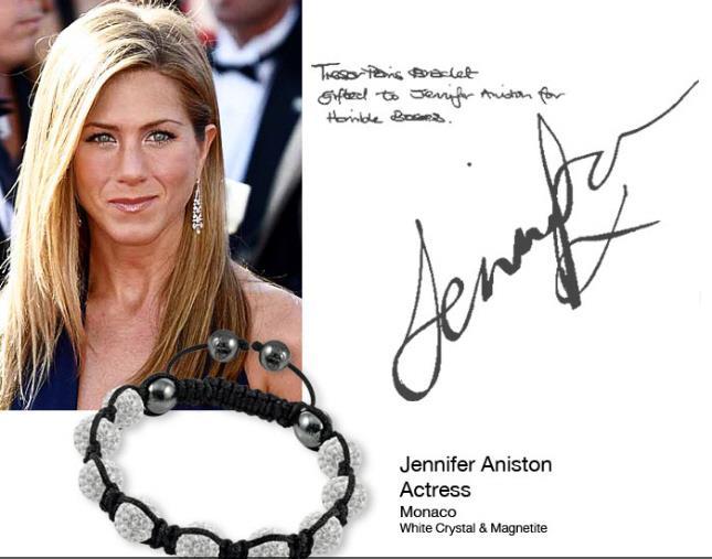 Jennifer Aniston tresor paris