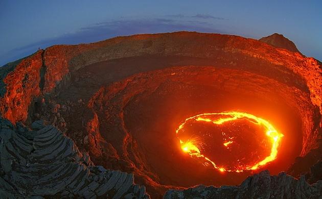 Lago de fuego, Etiopía