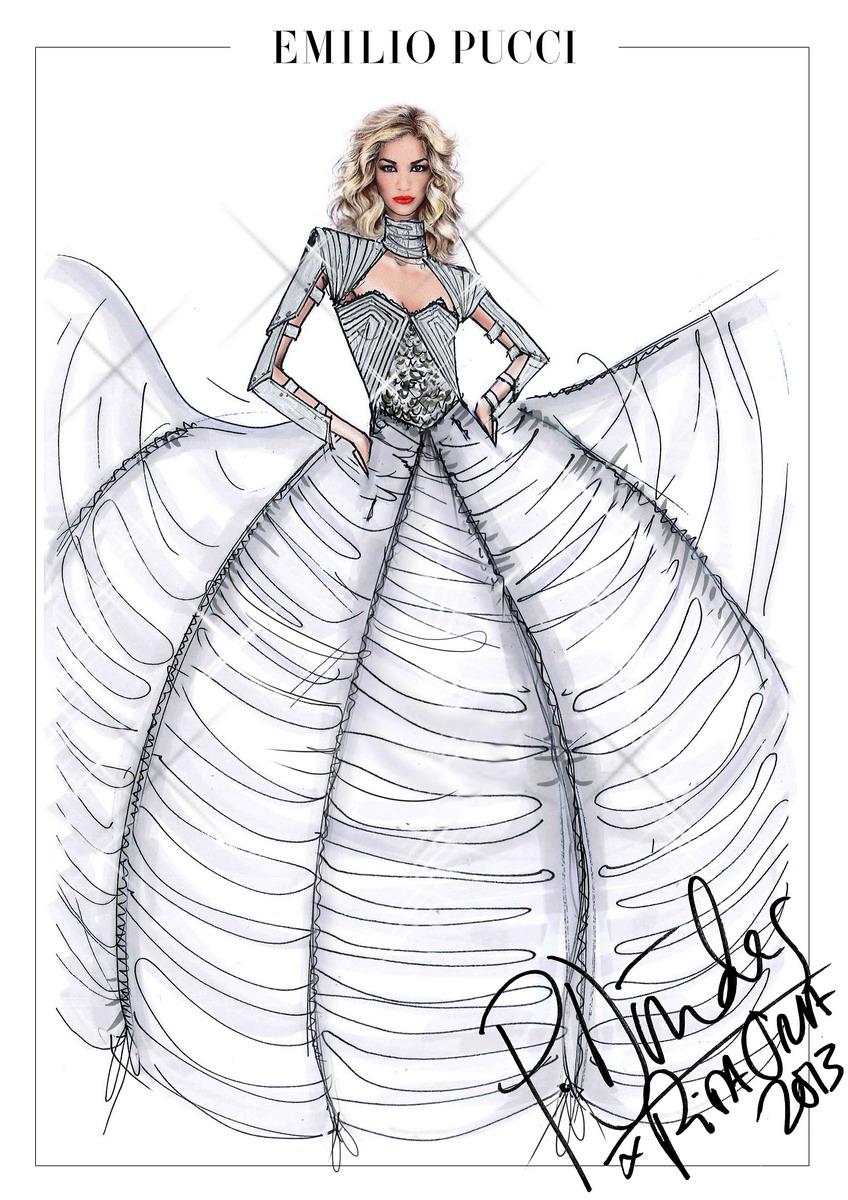 3_Emilio Pucci for Rita Ora_Radioactive Tour 2013