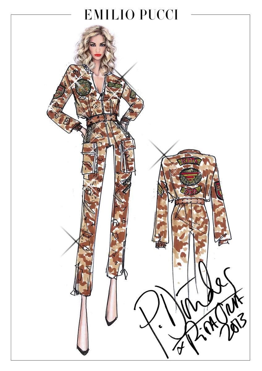 5_Emilio Pucci for Rita Ora_Radioactive Tour 2013