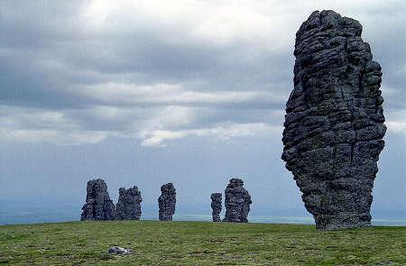 Los siete gigantes de los Urales