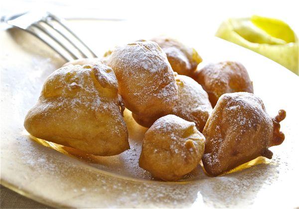 Buñuelos de manzana, ¡riquísimos!