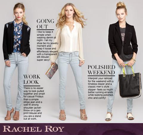 Looks de Rachel Roy