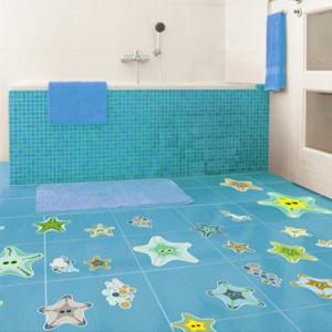 Idea expres cambia la decoraci n del ba o con vinilos de - Suelos de vinilo infantiles ...