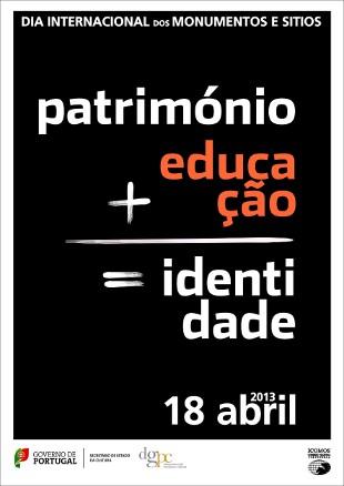 Cartel de las actividades en Portugal