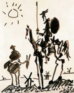 RAE El Quijote de Picasso