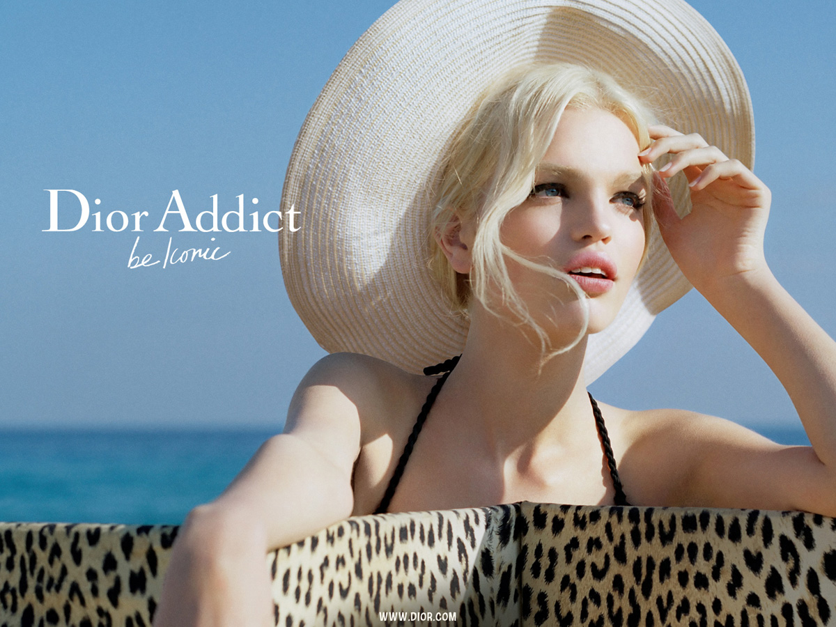 Daphne Groeneveld, la nueva imagen de Dior Addict