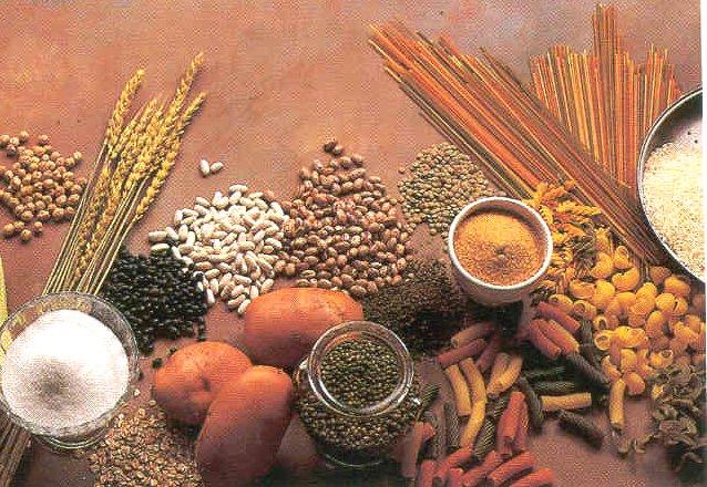 Los alimentos c mo dividirlos para una dieta hidratos - Alimentos hidratos de carbono ...