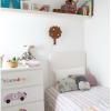 decoración con vinilos en las comodas y cambiadores de los niños