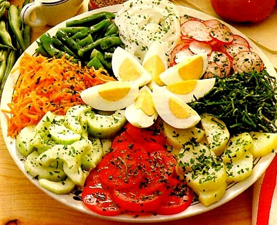 Alimentos para favorecer el bronceado - Decoracion de ensaladas ...