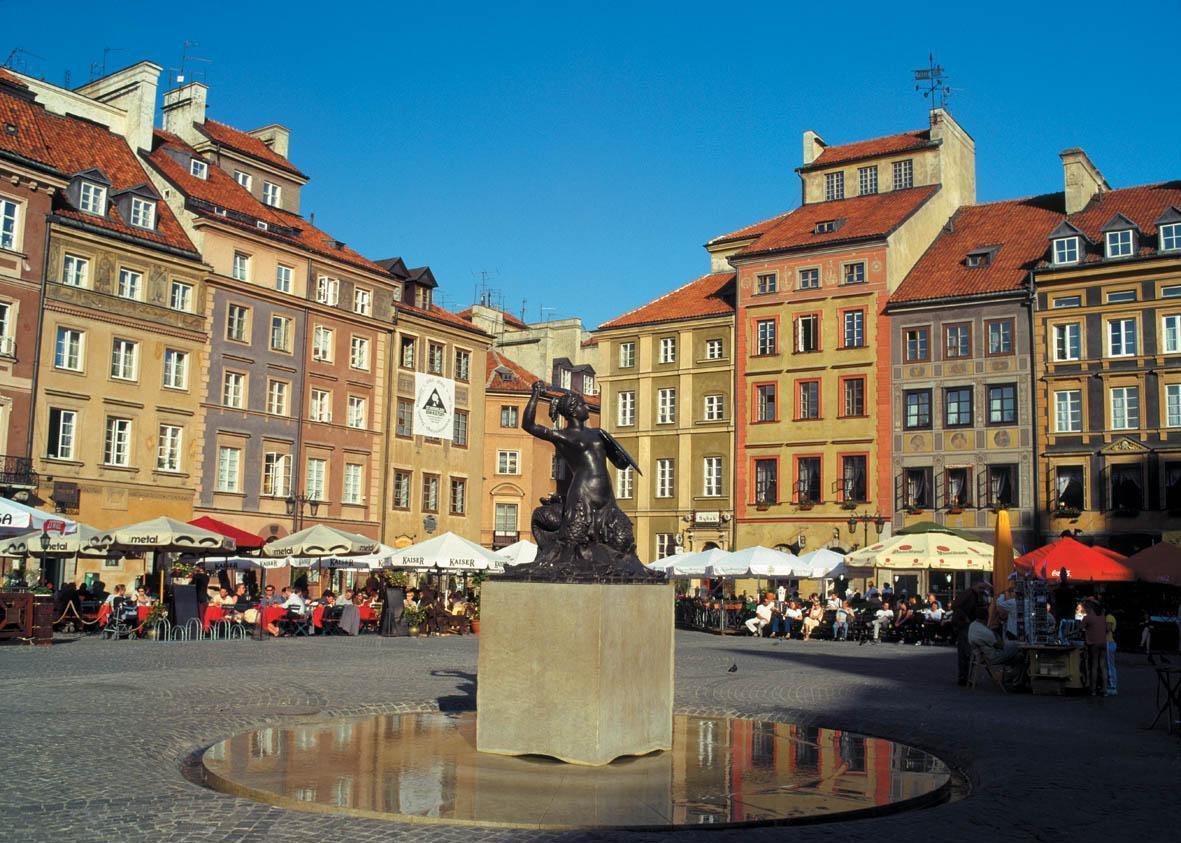 Las Sirenitas de Varsovia