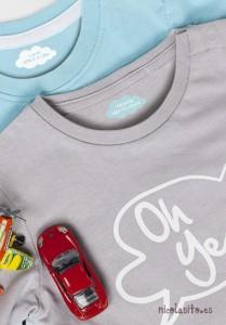 etiquetas personalizadas con su nombre para marcar la ropa de los niños en la guardería