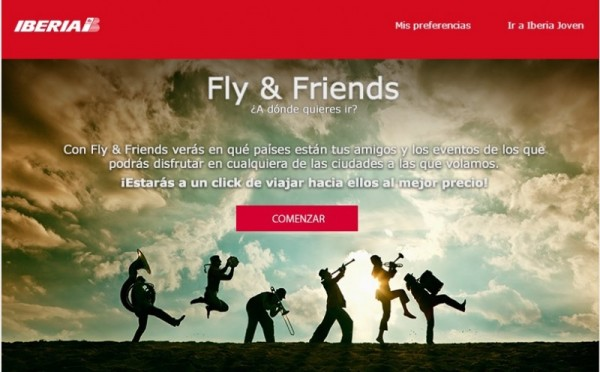 fly and friends