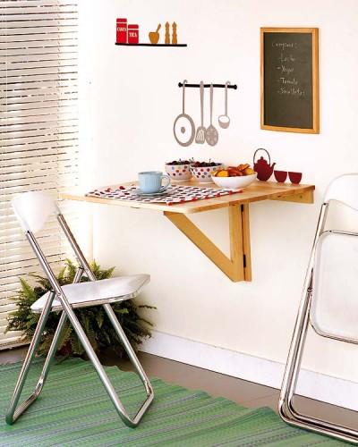 Deco minimalismo ingenioso para peque as cocinas for Soluciones para cocinas pequenas