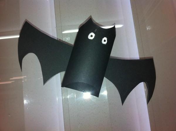 Hacer un murciélago para Halloween