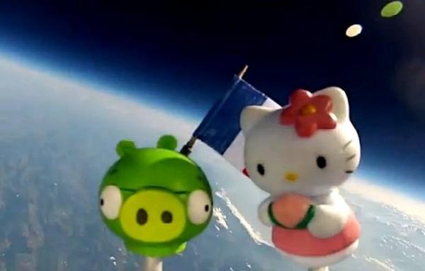 Juguetes al espacio