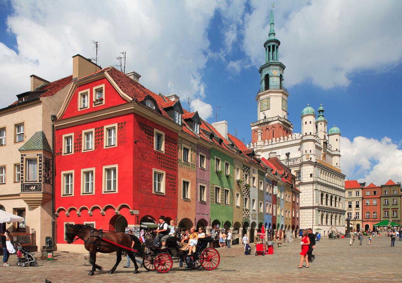 Poznan, una de las ciudades más bonitas de Polonia