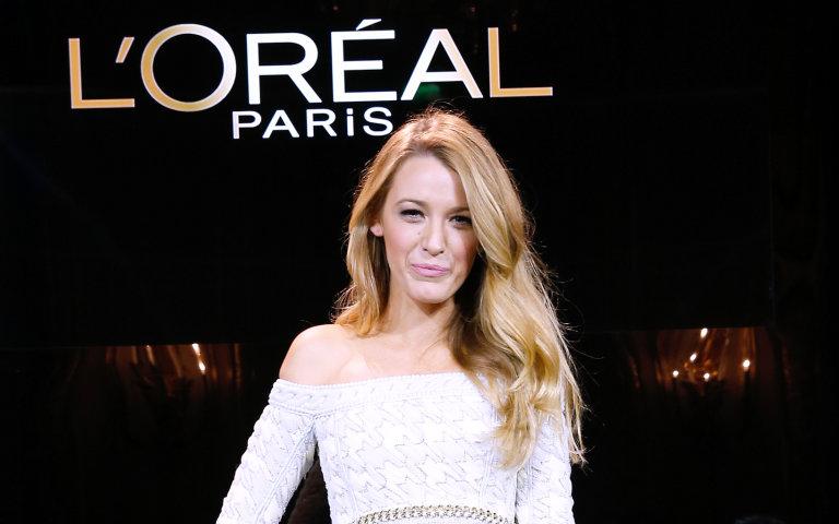 Blake Lively se une a L'Oréal Paris
