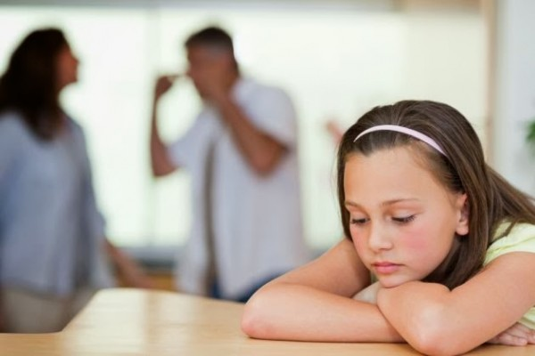 Discusiones ante niños, sí o no