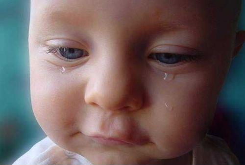 Las lágrimas en los bebés