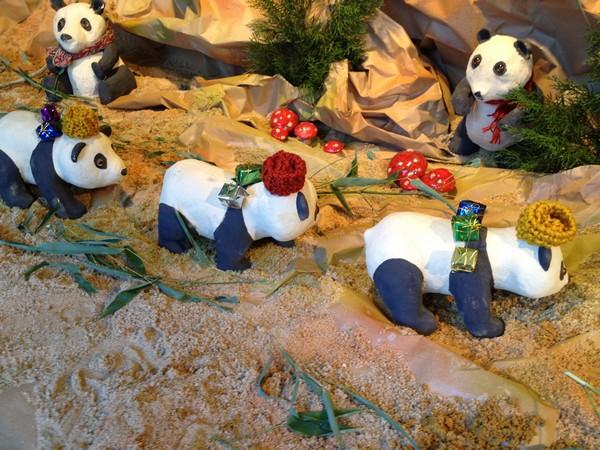 Regalos navideños en el zoo de Madrid