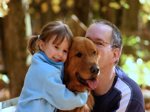 Tener una mascota con niños