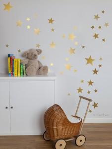 vinilos de Estrellas doradas
