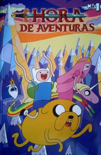 Hora de Aventuras el comic