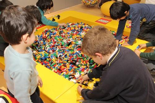 Ludoteca Lego en Madrid