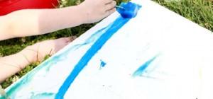Manualidades veraniegas: Pintura congelada