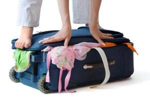 La maleta en vacaciones