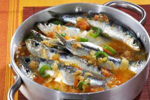 Cazuela de sardinas