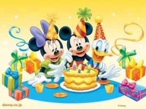 Feliz primer cumpleaños por partida doble