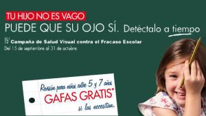 Gafas para niños gratis en Alain Afflelou