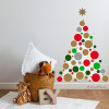 vinilos-decorativos-arboles-de-navidad-para-paredes-gotele