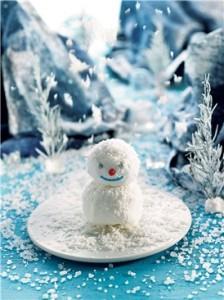 muñequito nieve
