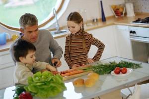 Cómo implicar a los hijos en las tareas del hogar