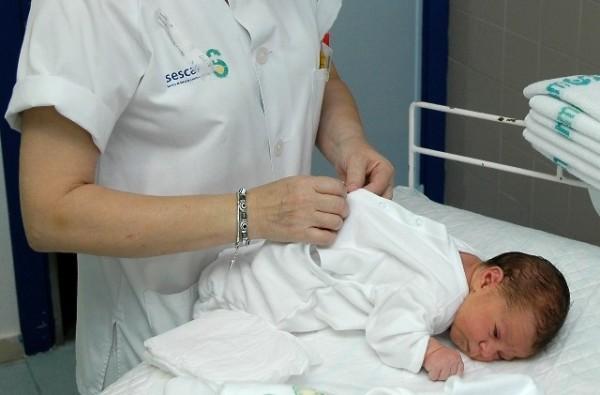 Los bebés quedarán registrados en el hospital