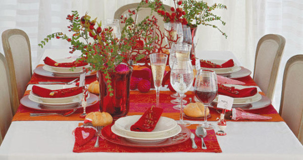 Formas de decorar tu mesa de navidad - Mesa navidena ...