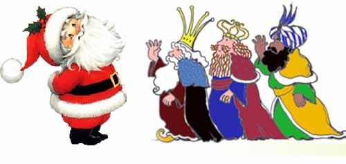 Los regalos para Papá Noel y los Reyes Magos