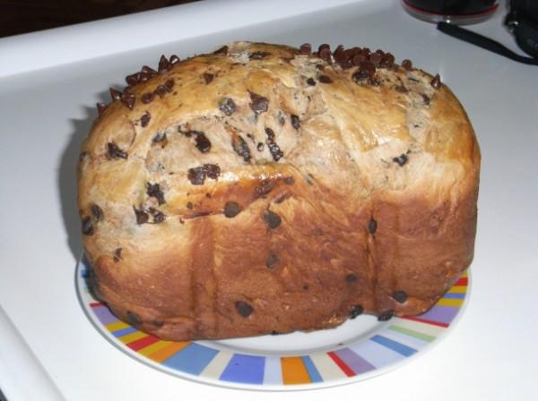 Pan brioche con chocolate