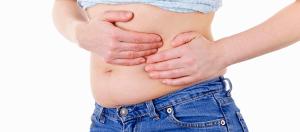 Motivos de un vientre hinchado