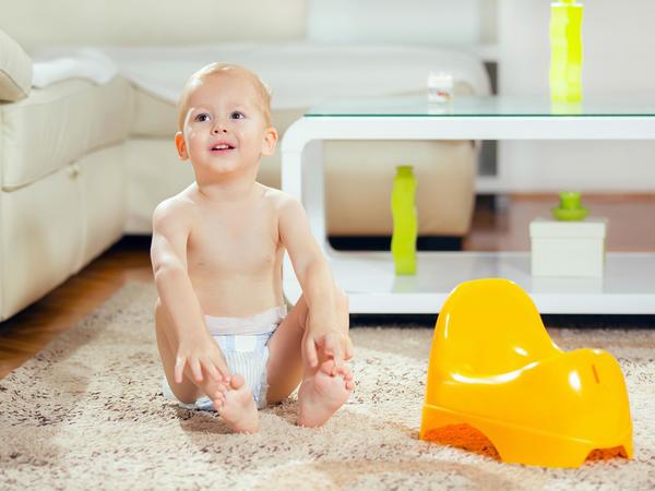 Cómo quitarle el pañal a tu hijo